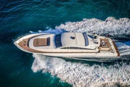 Charter this elegant and exciting 92' Yacht with Jet ski!