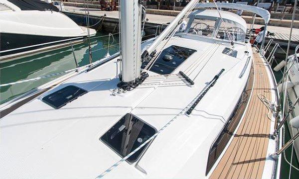Sloop boat rental in Latchi Harbour, Cyprus
