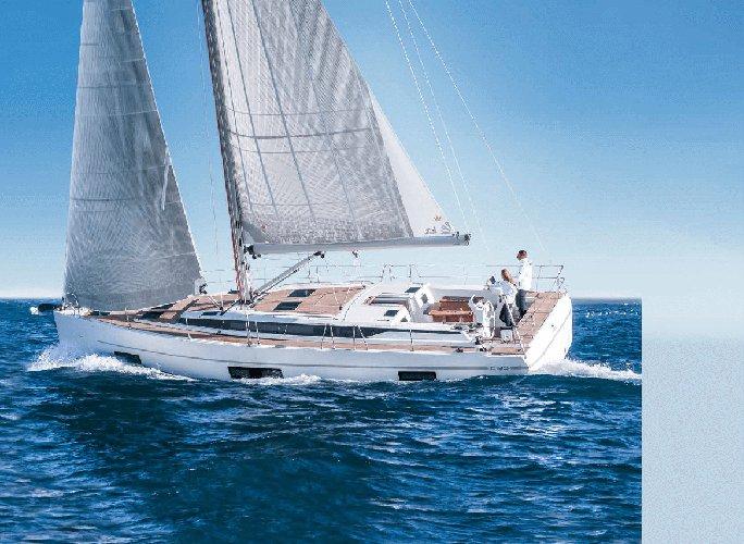 Explore picturesque locations in Cyprus aboard Bavaria C45