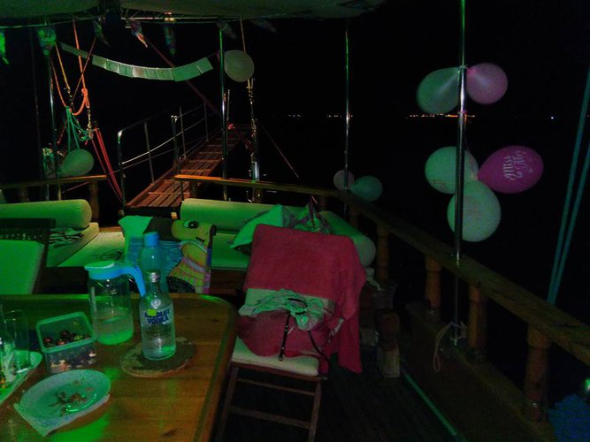 Discover Larnaca surroundings on this Custom Custom boat
