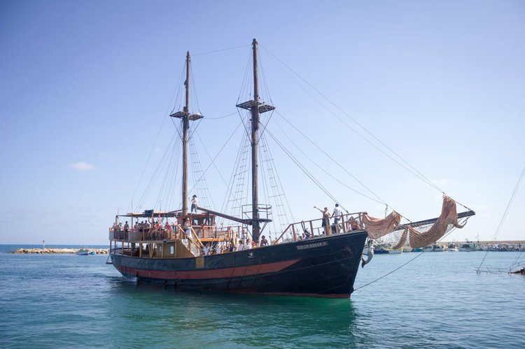 The Perfect Theme Ship available for charter in Paphos, Cyprus