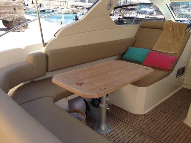 Discover St Julian's surroundings on this 34 Atlantis boat