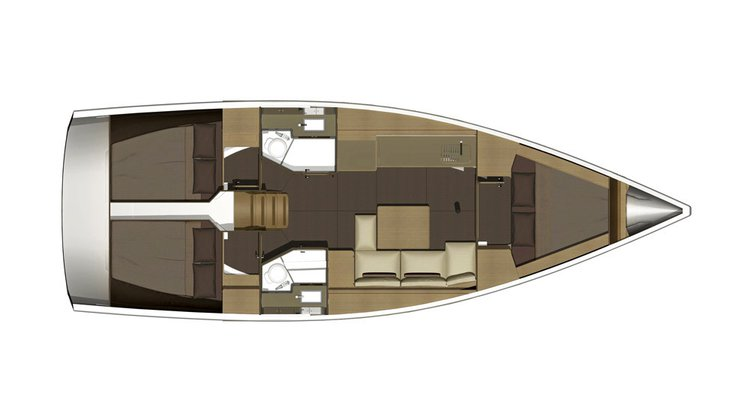 Dufour boat for rent in Pula