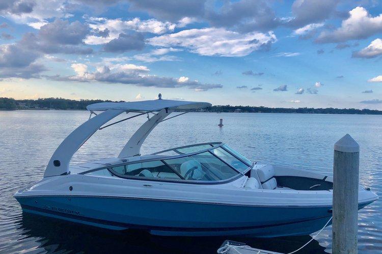 New boat for cruising, ski, tubing, fishing & wakeboard