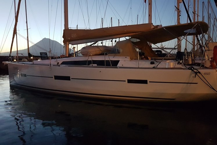 Dufour 460 Grand`Large_STRAPPO_Base Horta, Faial - AZORES