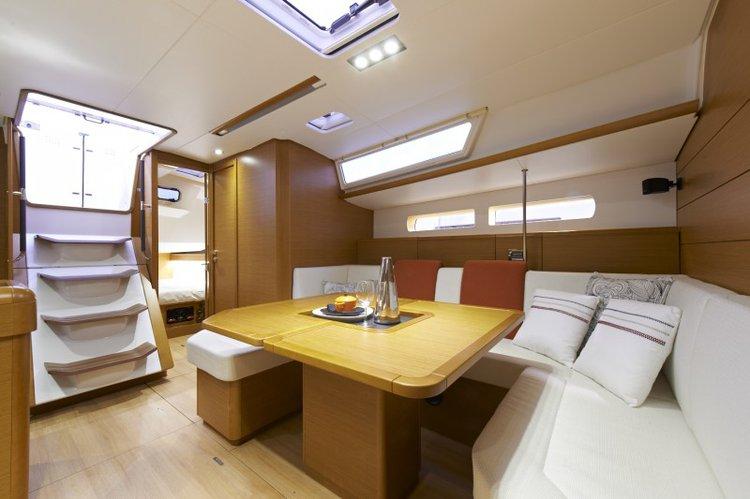 Discover Sibenik surroundings on this 469 Sun Odyssey boat