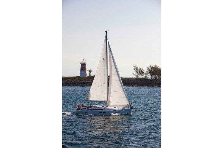 Boating is fun with a Sloop in Sibenik