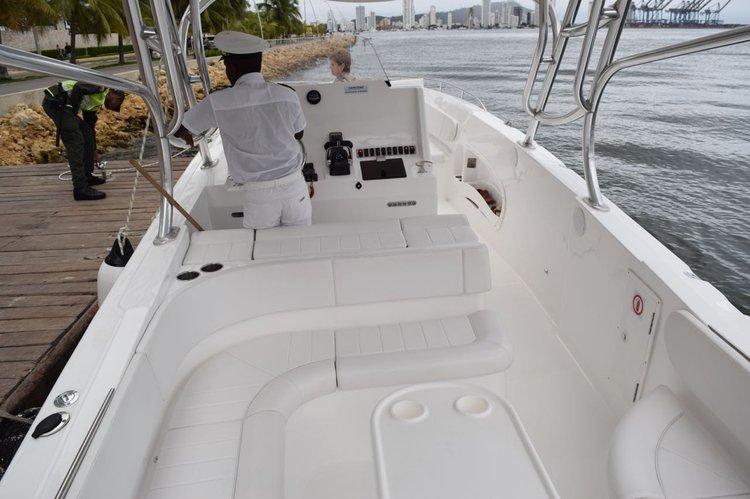 Bravo's 41.0 feet in Cartagena