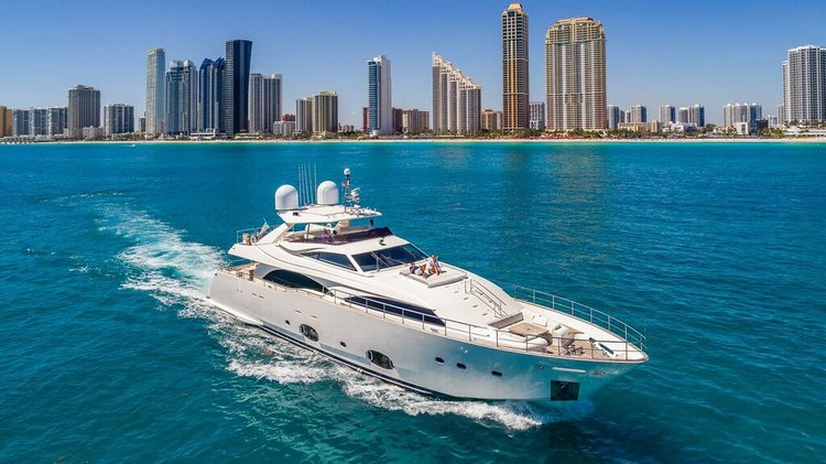Rent a Luxury Yachting Experience! 97' Ferretti  (ALL-INCLUSIVE PRICE!)