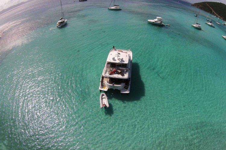 Up to 6 persons can enjoy a ride on this Catamaran boat