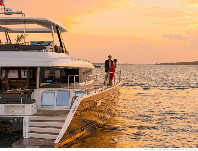Ultimate Lagoon 630 available for charter in British Virgin Islands