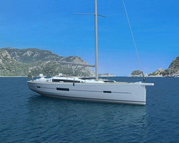 Discover amazing view around Sibenik, Croatia aboard Dufour 520 GL