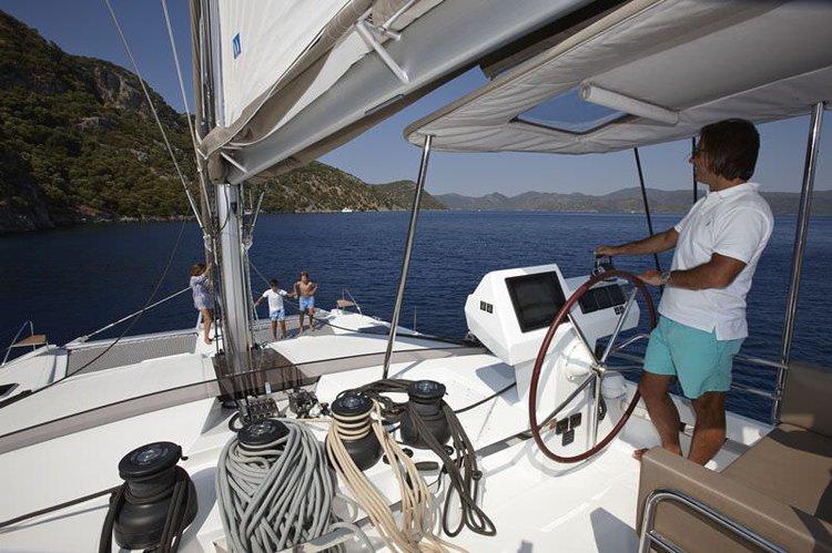 Catamaran boat rental in Nanny Cay Marina, British Virgin Islands