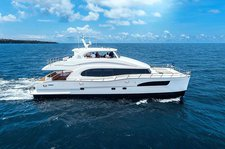 Cruise  in style in British Virgin Islands aboard luxurious Seaglass PC74