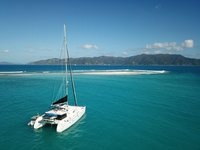 Charter luxurious Lagoon 500 in the Caribbean
