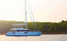 Awesome Lagoon 560 available for crewed charter in the Caribbean