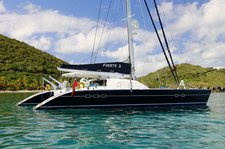 Sail on the pristine water in British Virgin Islands aboard Lagoon 67