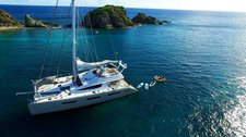Have ultimate time with friend & family in BVIs aboard Privilege 745