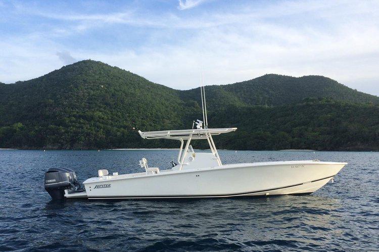 Explore the Virgin Islands on this 33' Jupiter!