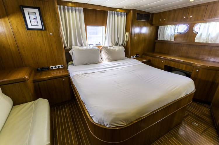 Motor yacht boat for rent in Tortola