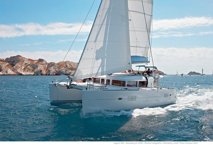 Sailing Catamaran in Algarve Portugal