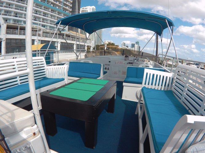 Discover Miami surroundings on this 40 NPC Albin boat