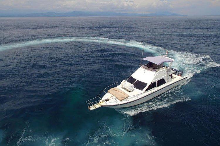 Cruiser boat rental in Sunrise Point Mertasari Sanur, Indonesia