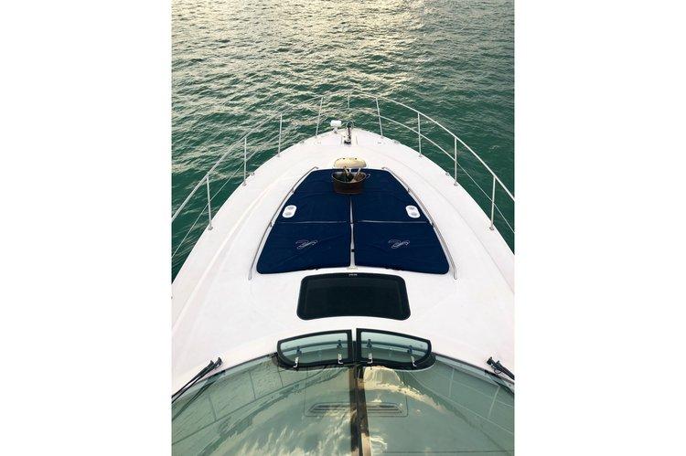This 51.0' Sea Ray cand take up to 13 passengers around Miami Beach