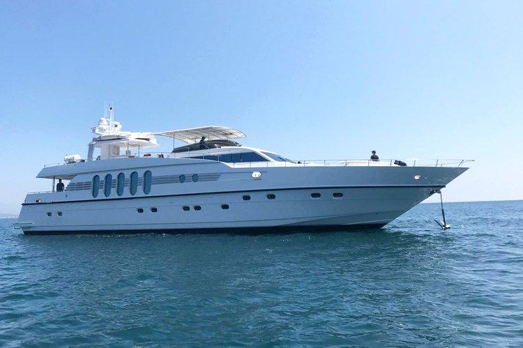 108' Monte Fino Mega Yacht Rental in San José del Cabo, Baja California Sur, Mexico
