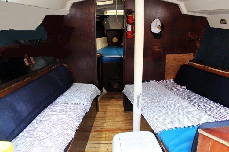 Motorsailer boat for rent in Nayarit