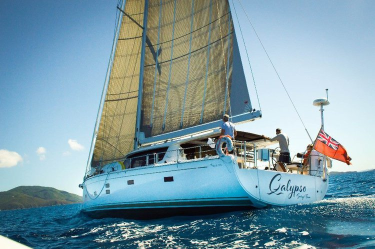 Charter this Motor Sailor boat for a true boating adventure