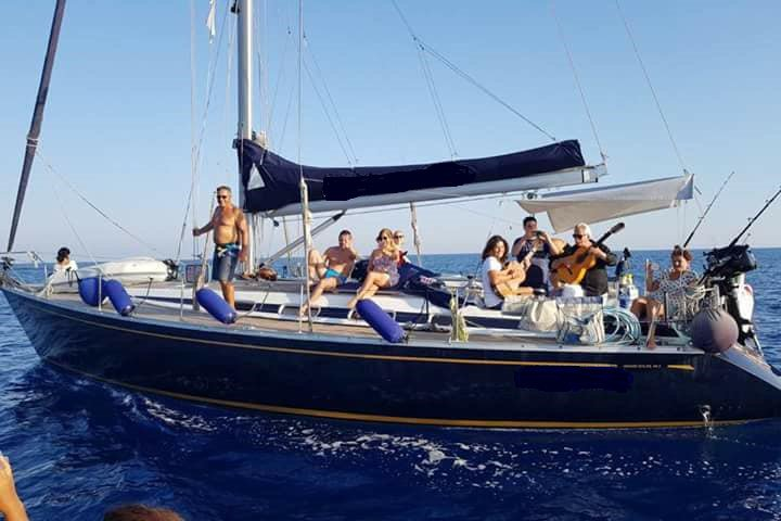 Boating is fun with a Sloop in Lecce