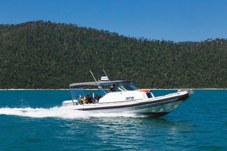 Boat for rent Ray-glass 28.0 feet in Whitsundays, Australia