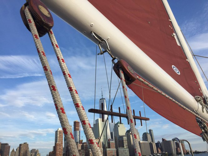 Classic boat rental in Chelsea piers, NY