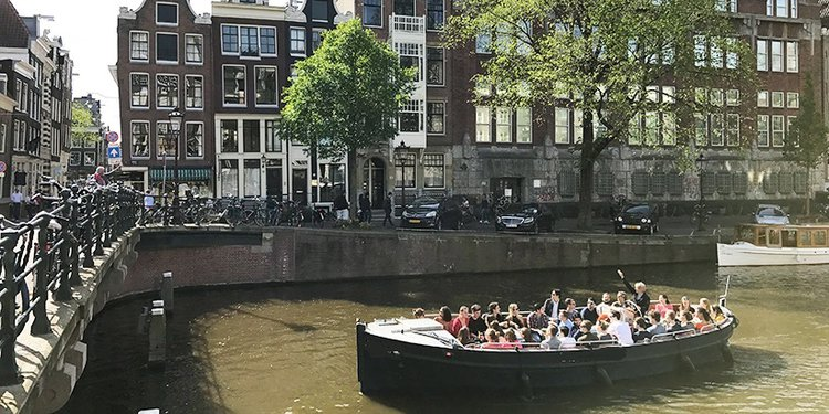 Boating is fun with a Other in Amsterdam