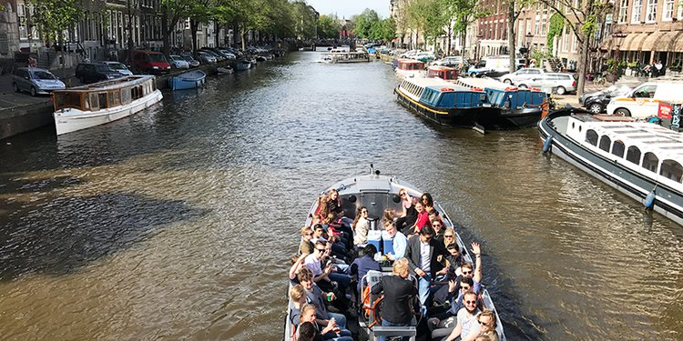 Up to 36 persons can enjoy a ride on this Other boat