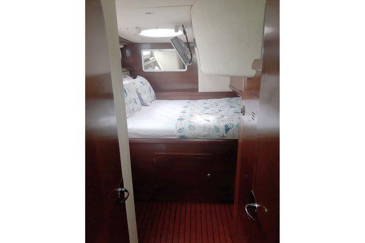 Catamaran boat for rent in Vieux Port