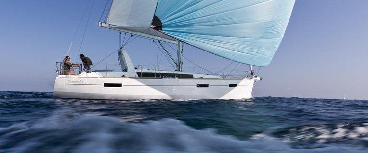 Indulge in luxury in France onboard Beneteau Oceanis 41