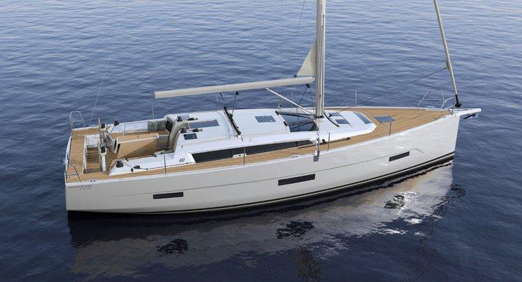 Have fun in sun in France aboard Dufour 43