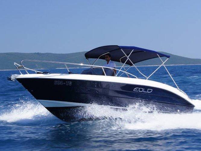Hop aboard this amazing motor boat rental in Trogir!