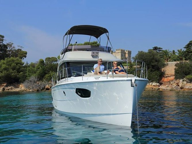 Experience Pula on board this elegant motor boat