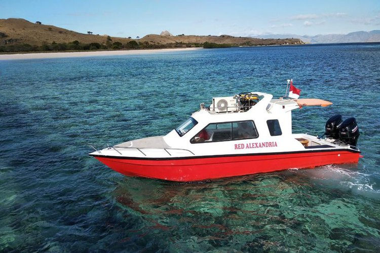 This motor boat rental is perfect to enjoy Indonesia