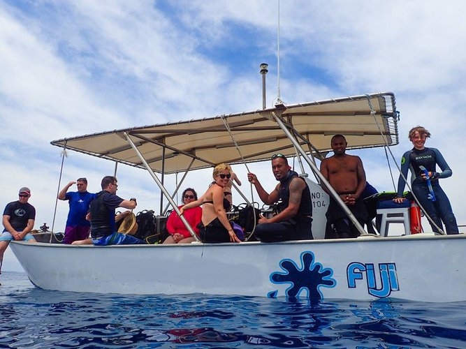Center console boat for rent in Nadi