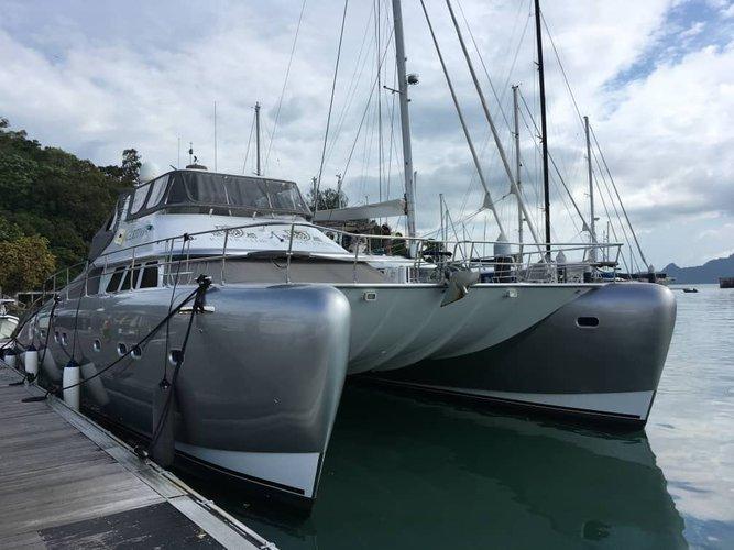 Have fun in the sun on this Langkawi catamaran charter