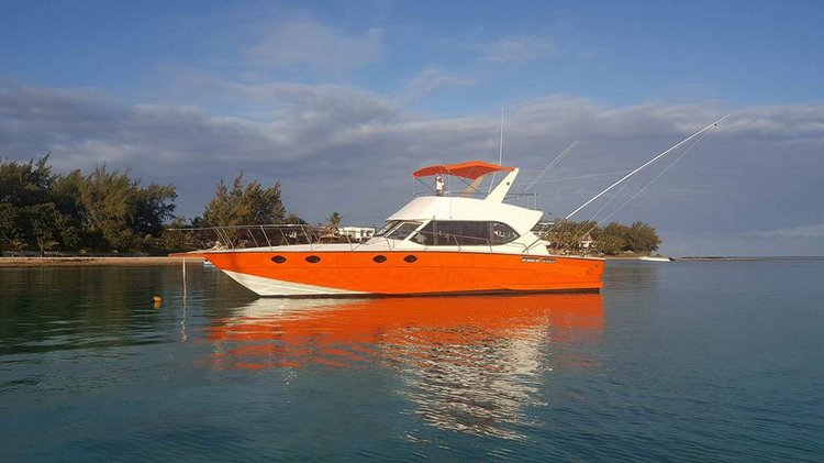 Discover Pereybere in style fishing on this motor boat rental