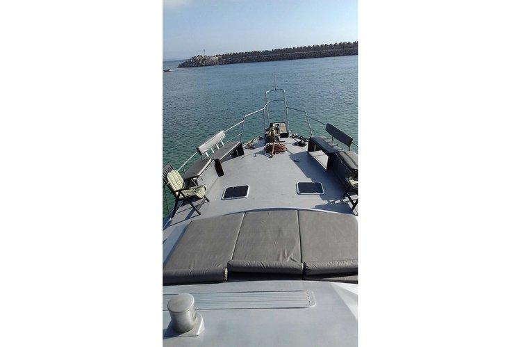 Discover agadir surroundings on this Custom Custom boat