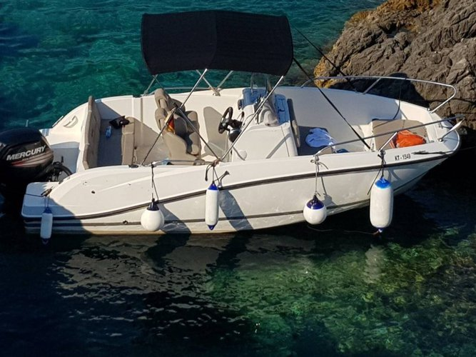 Experience Kotor on board this elegant motor boat