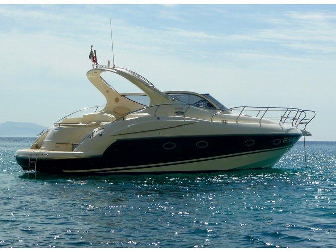 Climb aboard this Salpa Salpa 38.5 for an unforgettable experience