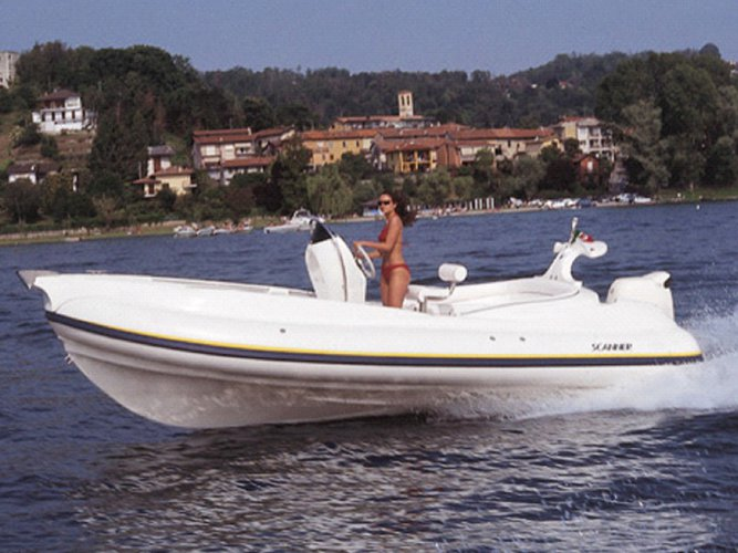 Boating is fun with a Rigid inflatable in Tivat