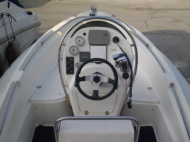Discover Tivat surroundings on this Envy 630 Scanner boat